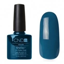 CND Shellac Blue Rapture - Гель-лак для ногтей 7,3 мл темно-голубой, эмаль.