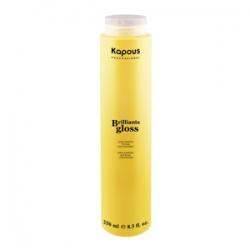 Kapous Brilliants gloss - Блеск-шампунь для волос 250 мл