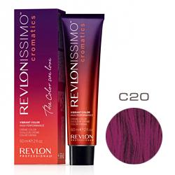 Revlon Professional Revlonissimo Cromatics Creme Color - Крем-краска для волос C 20 Пурпурно-баклажанный 60 мл