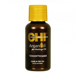 CHI Argan Oil Conditioner - Увлажняющий кондиционер с экстрактом масла Арганы и дерева Маринга 15 мл