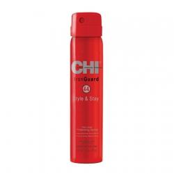 CHI 44 Iron Guard Style & Stay Protecting Spray Firm Hold - Термозащитный спрей для волос сильной фиксации 74 гр