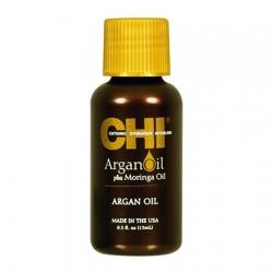 CHI Argan Oil - Увлажняющее масло с экстрактом масла Арганы и дерева Маринга 15 мл