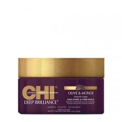 CHI Deep Brilliance Olive&Monoi Smooth Edge - Крем для придания волосам блеска и гладкой эластичной фиксации 54 г