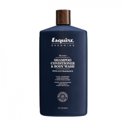 CHI Esquire 3 in 1 Shampoo,Conditioner, Bodywash - Мужской 3 в 1 шампунь кондиционер и гель для душа 414 мл