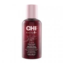 CHI Rose Hip Oil Conditioner - Кондиционер для окрашенных волос 59 мл