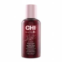 CHI Rose Hip Oil Shampoo - Шампунь с маслом шиповника для окрашенных волос 59 мл
