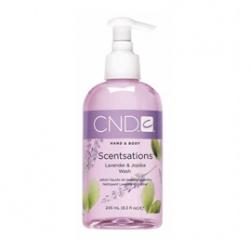 CND Scentsations Lavander & Jojoba Wash - Мыло для рук и тела «Лаванда - Жожоба» 245 мл