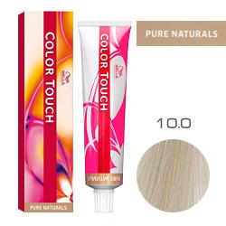 Wella Color Touch Pure Naturals - Оттеночная краска для волос 10/0 Яркий блонд 60 мл