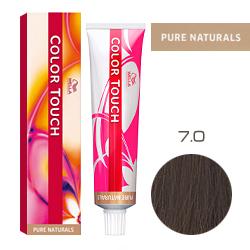 Wella Color Touch Pure Naturals - Оттеночная краска для волос 7/0 Блонд 60 мл