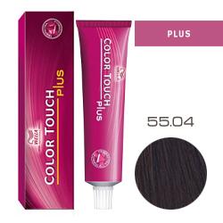 Wella Color Touch Plus - Оттеночная краска для интенсивного тонирования волос 55/04 Бренди 60 мл