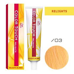 Wella Color Touch Relights Blonde - Оттеночная краска для светлых волос /03 Французская ваниль 60 мл