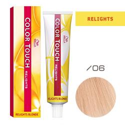 Wella Color Touch Relights Blonde - Оттеночная краска для светлых волос /06 Малиновый лимонад 60 мл