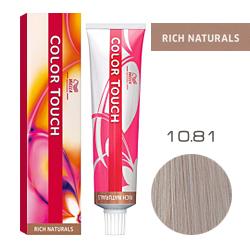 Wella Color Touch Rich Naturals - Оттеночная краска для волос 10/81 Нежный ангел 60 мл