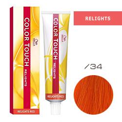 Wella Color Touch Relights Red - Оттеночная краска для светлых волос /34 Полированная медь 60 мл