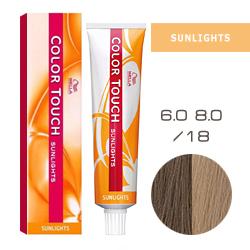 Wella Color Touch Sunlights - Оттеночная краска /18 Пепельно-жемчужный 60 мл