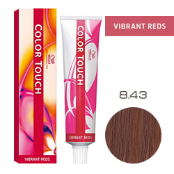 Wella Color Touch Vibrant Reds - Оттеночная краска для волос 8/43 Боярышник 60 мл