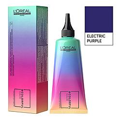 Loreal Professionnel ColorFul Hair - Макияж для волос Электрический лиловый 90 мл