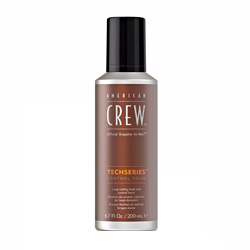 American Crew Techseries Control Foam - Пена для укладки волос сильной фиксации 200 мл