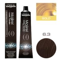 L'Oreal Professionnel Majirel Cool Cover - Краска для волос Кул Кавер 6.3 Темный блондин золотистый 50 мл