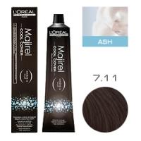 L'Oreal Professionnel Majirel Cool Cover - Краска для волос Кул Кавер 7.11 Блондин глубокий пепельный 50 мл