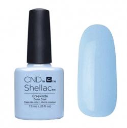 NEW Весна 2015! CND Shellac цвет Creekside гель-лак 7,3 мл пастельный голубой, эмаль.