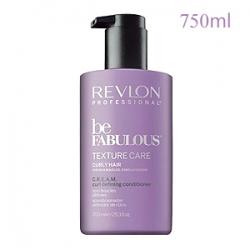 Revlon Professional Be Fabulous Texture Care Curly Hair C.R.E.A.M. Curl Defining Conditioner - Кондиционер для вьющихся волос 750 мл
