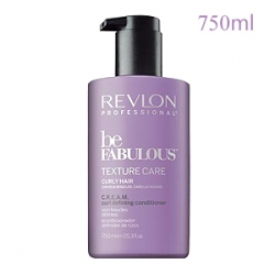 Revlon Professional Be Fabulous Texture Care Curly Hair C.R.E.A.M. Curl Defining Conditioner - Кондиционер для вьющихся волос 750 мл