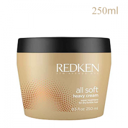 Redken All Soft Heavy Cream - Смягчающая крем-маска 250 мл