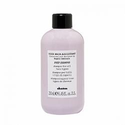 Davines Your Hair Assistant Prep shampoo - Универсальный шампунь для подготовки волос к укладке 250мл