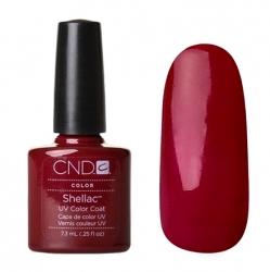 CND Shellac Гель-лак для ногтей Decadence 7,3 мл темно-красная вишня, эмаль.