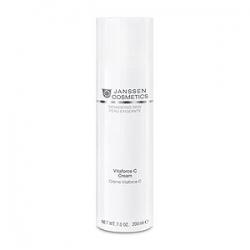 Janssen Cosmetics Demanding Skin Vitaforce C Cream - Регенерирующий крем с витамином С 200 мл