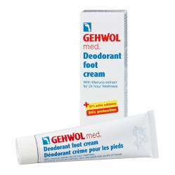Gehwol Med Deodorant foot cream - Крем-дезодорант для ног 125 мл