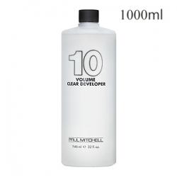 Paul Mitchell Clear Developer 10vol - Жидкий окислитель-проявитель 3% 1000 мл