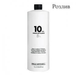 Paul Mitchell Cream Developer 10vol - Кремообразный окислитель-проявитель 3% (Розлив)