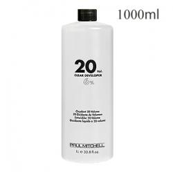 Paul Mitchell Cream Developer 20vol - Кремообразный окислитель-проявитель 6% 1000 мл
