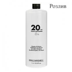 Paul Mitchell Cream Developer 20vol - Кремообразный окислитель-проявитель 6% (Розлив)