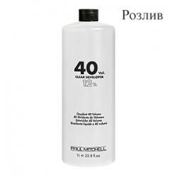 Paul Mitchell Cream Developer 40vol - Кремообразный окислитель-проявитель 12% 40 vol (Розлив)
