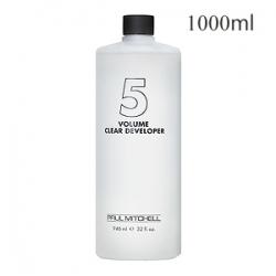 Paul Mitchell Clear Developer 5vol - Жидкий окислитель-проявитель 1,5% 1000 мл