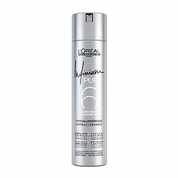 Loreal Professionnel Infinium Pure Extra Strong Hairspray - Инфиниум Лак для волос без запаха экстрасильной фиксации (фикс. 4) 300 мл