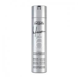 Loreal Professionnel Infinium Pure Extra Strong Hairspray - Инфиниум Лак для волос без запаха экстрасильной фиксации (4) 300 мл