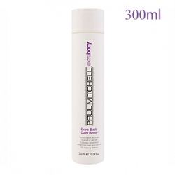 Paul Mitchell Extra-Body Daily Rinse - Объемообразующий кондиционер для ежедневного применения 300 мл