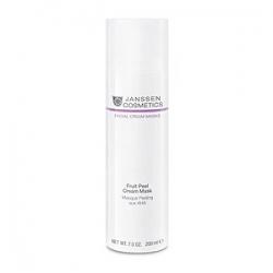 Janssen Cosmetics Facial Cream Masks Fruit Peel Cream Mask - Очищающая Крем-Маска с AHA-кислотами 200мл