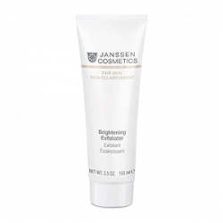 Janssen Cosmetics Fair Skin Brightening Exfoliator - Пилинг-Крем для Выравнивания Цвета Лица 100 мл