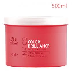 Wella Professionals Invigo Color Brilliance Fine/normal Protection Mask - Маска для Окрашенных Нормальных и Тонких волос 500 мл