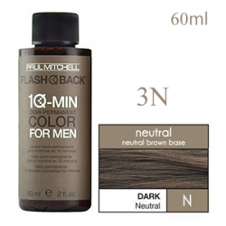 Paul Mitchell Flash Back 3N Dark Neutral - Краска-камуфляж седины для мужчин 60 мл