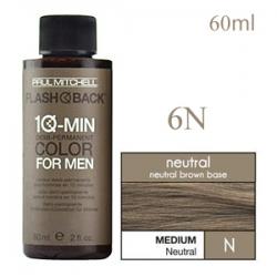 Paul Mitchell Flash Back 6N Medium Neutral - Краска-камуфляж седины для мужчин 60 мл