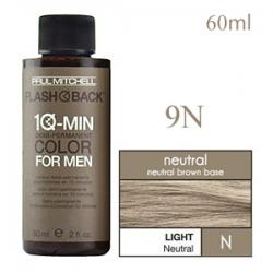 Paul Mitchell Flash Back 9N Light Neutral - Краска-камуфляж седины для мужчин 60 мл