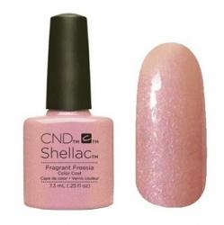NEW Весна 2015! CND Shellac цвет Fragrant Freesia гель-лак 7,3 мл бежево-розовый, с перламутром.