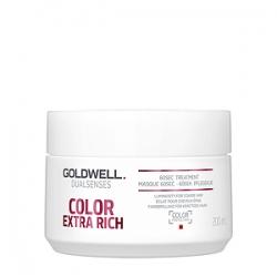 Goldwell Dualsenses Color Exrta Rich 60SEC Treatment - Интенсивный уход за 60 секунд для блеска окрашенных волос 200мл
