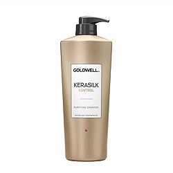 Goldwell Kerasilk Premium Control Shampoo - Шампунь для непослушных, пушащихся волос 1000 мл